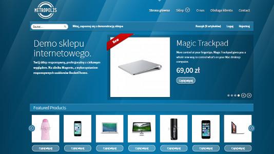8b4da431 Wygląd strony głównej sklepu internetowego